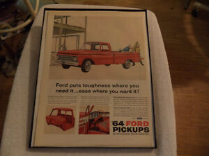 OLD CLASSIC CAR ford & chev PICKUP ADS Windsor Region Ontario image 4