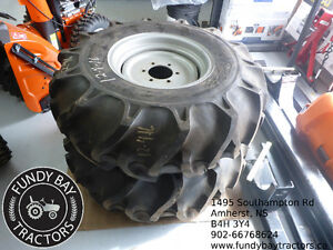 Set of Bridgestone Rear Tires to fit Compact Tractor