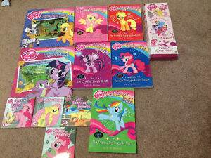 My little pony books and puzzle