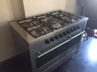 Diplomat 100cm dbl oven stainless range cooker