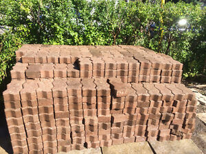 Interlock patio bricks