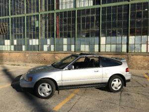 1991 Honda CRX SI Special Edition (SE) Coupe (2 Door)