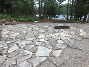 Natural Stone Flagstone Of Various Colors. Pick Up In Barrie.