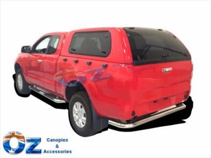 Dual lift up side WINDOWS ISUZU D-MAX SPACE CAB EXTRA CAB CANOPY  sc 1 st  Gumtree & Pre-made Aluminum checker plate Extra cab Ute canopy $2499 ...