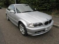 2003 BMW 3 SERIES 318 MANUAL PETROL 2 DOOR COUPE