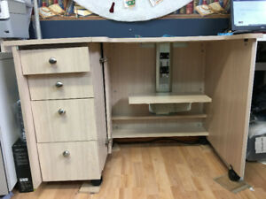 Sylvia Sewing Machine And Serger Cabinet & Sylvia Sewing Cabinets Canada | Mail Cabinet