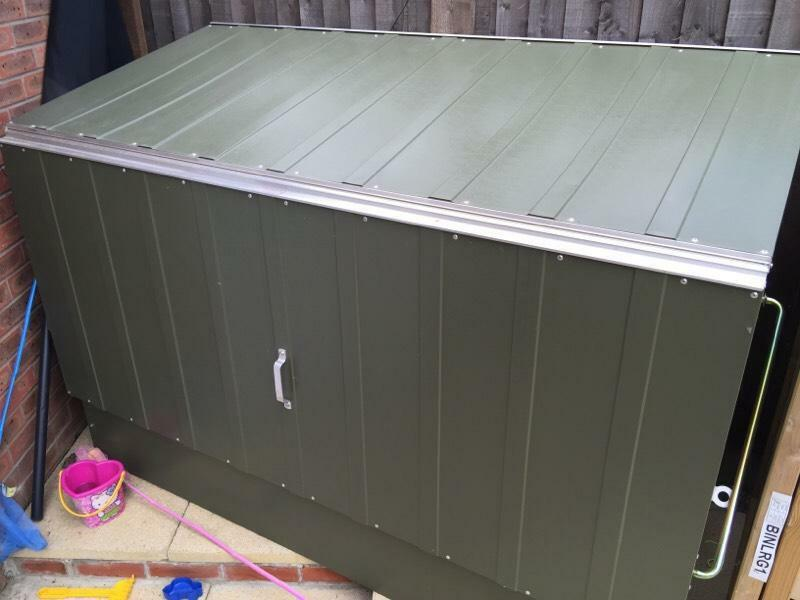 Metal Bike Storage Box In West Malling Kent Gumtree & Metal Bike Storage Box - Listitdallas