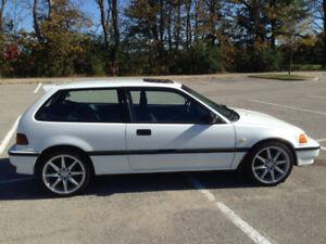 1990 Honda Civic DX Hatchback (EF)