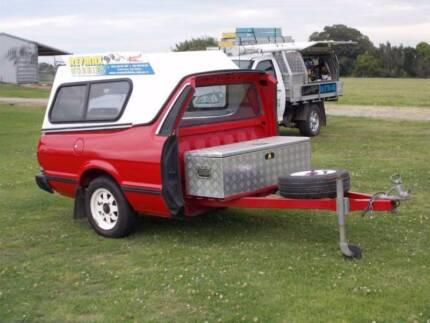 Subaru Brumby Trailer & subaru brumby canopy in New South Wales | Gumtree Australia Free ...