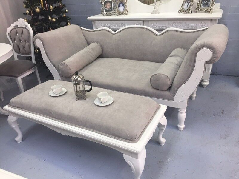 Double Ended Chaise Lounge : double ended chaise longue - Sectionals, Sofas & Couches