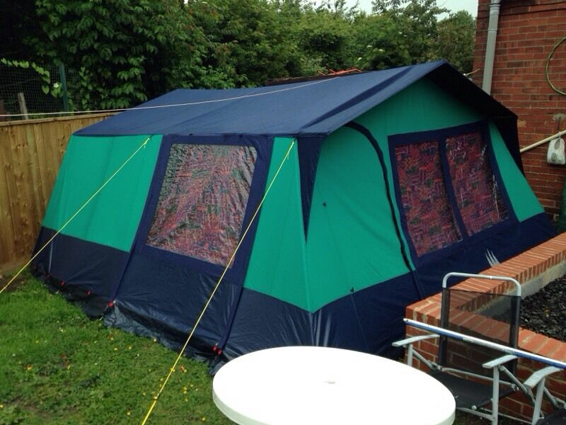 Lichfield 7 deluxe 7 man tent with accessories & Lichfield 7 deluxe 7 man tent with accessories | in Gateshead ...