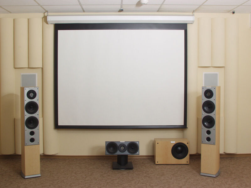 How To Mount A Projector Screen To A Ceiling