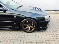 2000 X Reg Nissan Skyline R34 2.5 GTT Turbo + GTR Spec Body Styling + Black