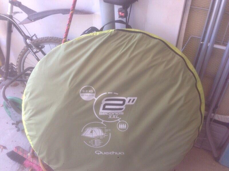 Quechua Tent In Usa & Buy Instant Famlily Tent Quechua Seconds Family 42xl Illumin 68027 ...