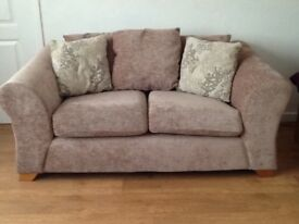 Burlesque Black Leather Sofa | In Ormesby, North Yorkshire | Gumtree