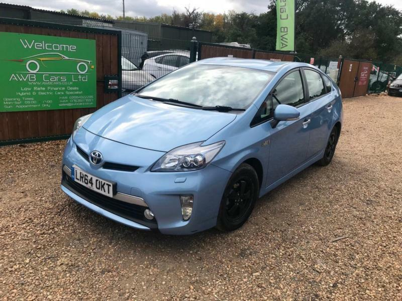 TOYOTA PRIUS PLUG IN PHEV UK MODEL UBER READY WARRANTED MILE TOP SPEC CAR