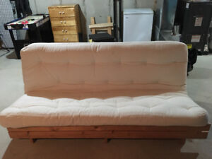 wood frame futon futon with   buy and sell furniture in ottawa   kijiji classifieds  rh   kijiji ca