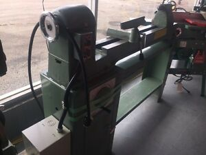 sale used general 160 wood lathe single phase variable speed