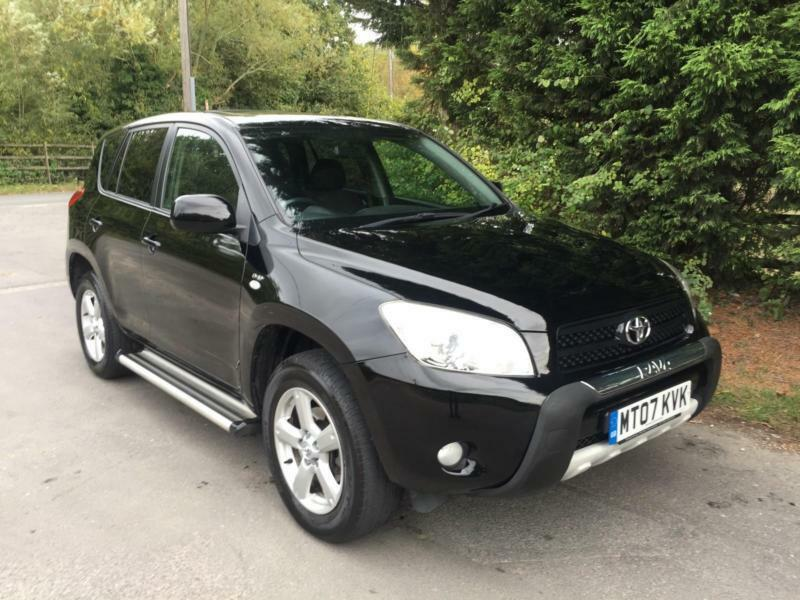 Awesome 2007 TOYOTA RAV 4 2.2 D 4D XT R TURBO DIESEL 6 SPEED MANUAL