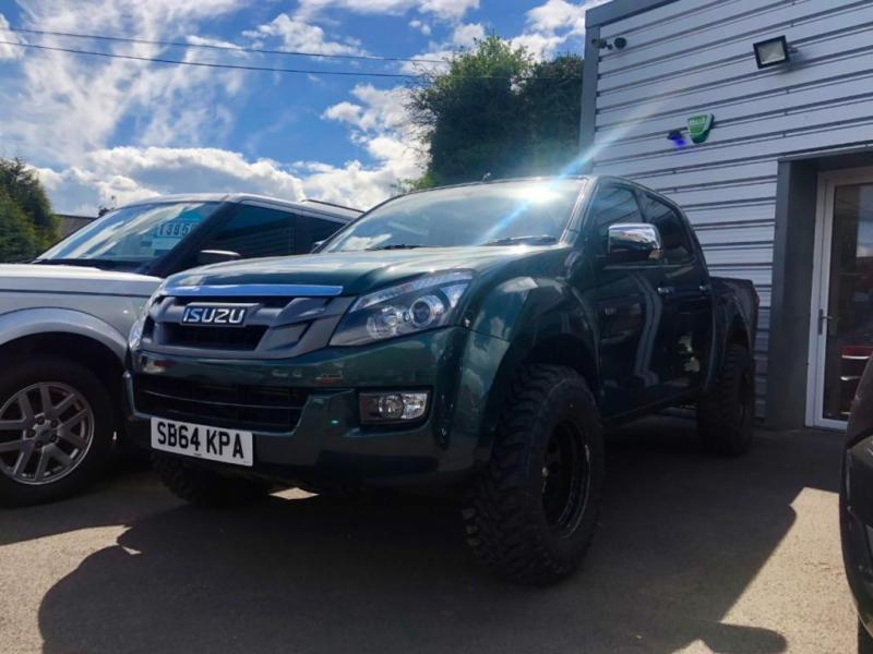 2015 Isuzu D Max Eiger seeker fury green edition VATQ 4 door Pick Up & 2015 Isuzu D Max Eiger seeker fury green edition VATQ 4 door Pick Up ...