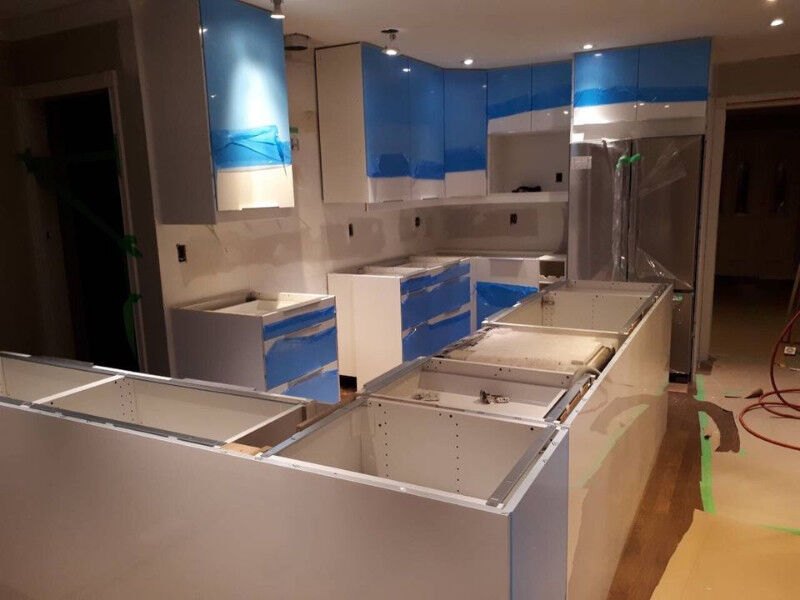 Description. Assembly And Installation. Kitchen Cabinets ...