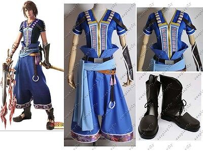 Final Fantasy XIII-2 Noel Kreiss Cosplay Costume + Boots Custom Made Any Size : bms mascot costume  - Germanpascual.Com