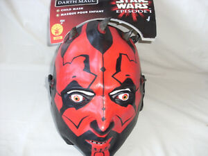 Star Wars Episode 1 Darth Maul Child Mask - Brand New with Tag & Star Wars | Buy or Sell Costumes in Alberta | Kijiji Classifieds