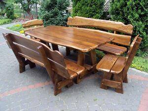Handmade Wooden Garden Furniture