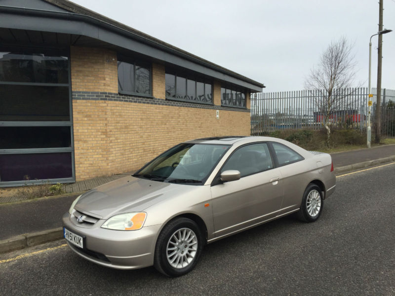 2001 Honda Civic 1.7i VTEC 2 Door Coupe