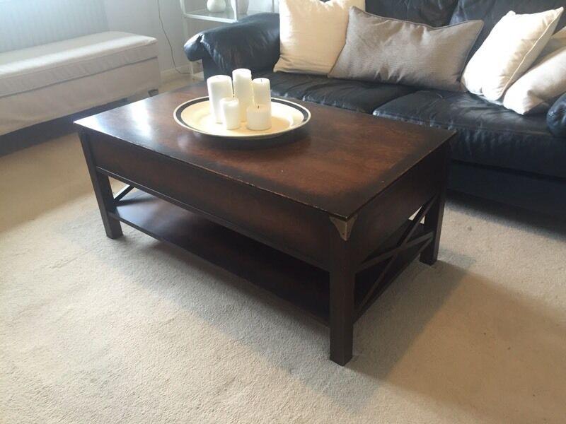 Laura Ashley Balmoral Chestnut Coffee Table