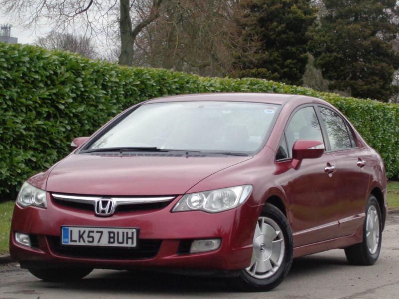 2007 Honda Civic 1.4 IMA Hybrid CVT ES**LOW MILEAGE 46K + FULL SERVICE  HISTORY**