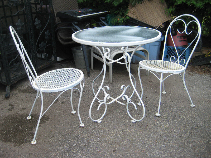 metal outdoor table and chairs. metal outdoor table \u0026&; chairs | patio \ & Metal Outdoor Table And Chairs. Metal Outdoor Table And Chairs N ...