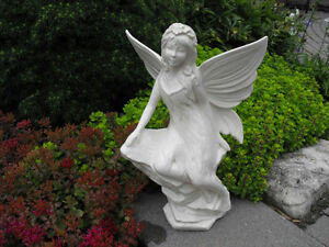 Superior Garden Fairy Statue New