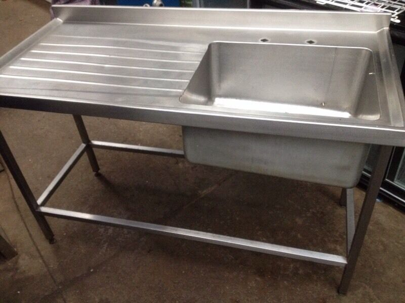Used Commercial Kitchen Sinks Part - 34: Commercial Sink/ Stainless Steel Sink Unit (used)