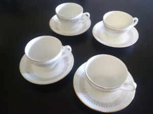 Beautiful Vintage Royal Knight Tea Cups and Saucers Traditional & Gold Dinnerware | Kijiji in Calgary. - Buy Sell u0026 Save with ...