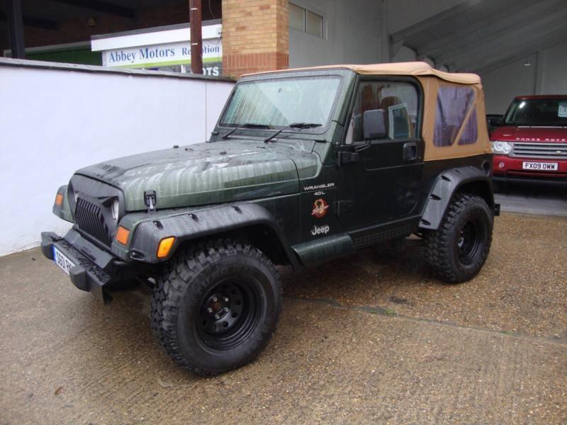 Jeep Wrangler 4.0 Sahara Soft Top Auto, 1998, 70000 Miles, Service History,