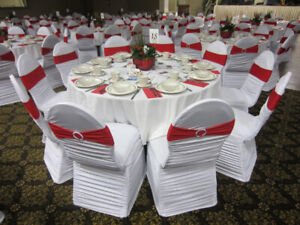 White Chair Covers For Rent & Chair Covers For Rent | Find or Advertise Services in Ontario ...