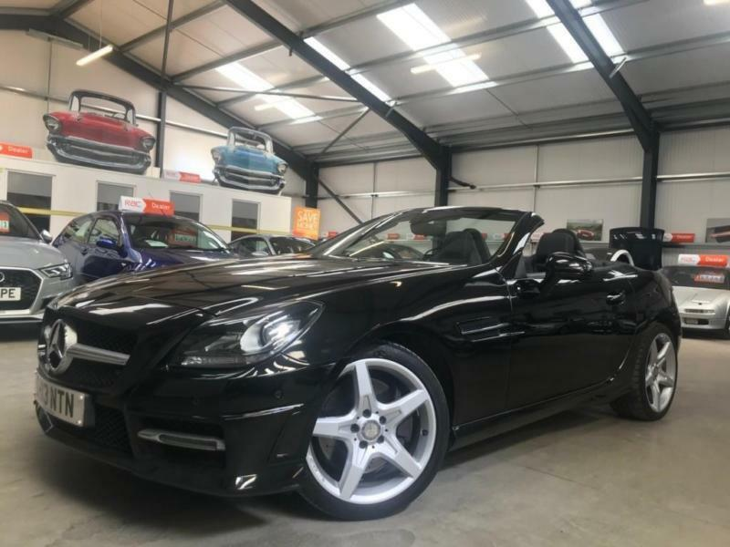 2013 Mercedes Benz SLK 1.8 SLK200 BlueEFFICIENCY AMG Sport 7G Tronic Plus