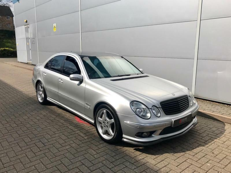 2003 03 Reg Mercedes Benz E55 AMG 5.4 Auto + HUGE SPEC + CARBON STYLING