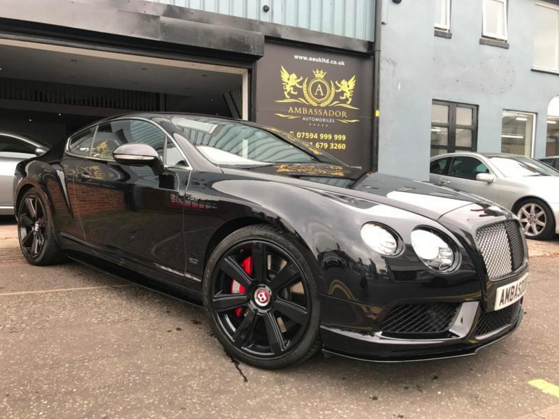 2015 Bentley Continental 4.0 ( 528ps ) Auto GT V8 S CONCOURS BLACK EDITION