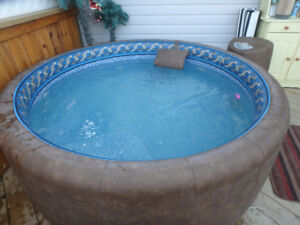 4 person softub hot tub