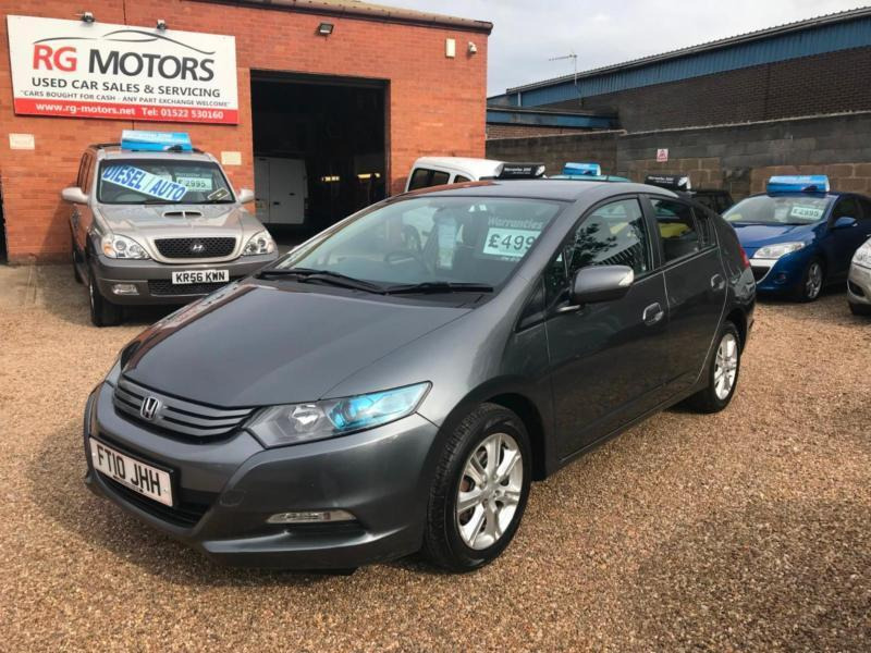 2010(10) HONDA INSIGHT 1.3 CVT SE HYBRID, AUTO, PETROL/ELECTRIC £20 TAX, 65  MPG