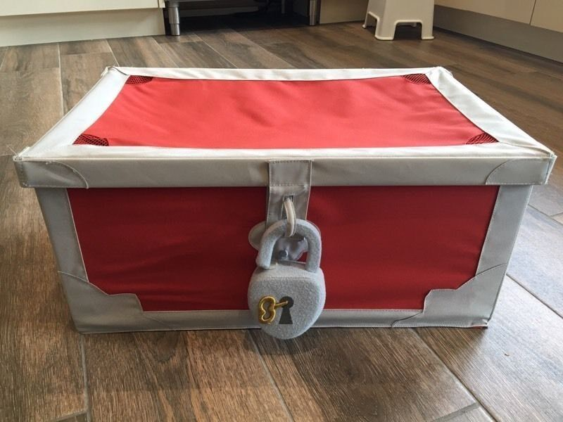 Ikea kids treasure chest toy box & Ikea kids treasure chest toy box | in Hyndland Glasgow | Gumtree Aboutintivar.Com