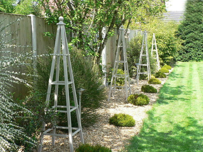 garden design with how to make a wooden obelisk for the garden ebay with front yard