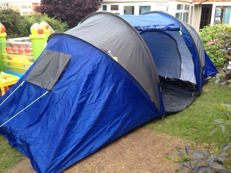 Pro Action 4 man 2 room tunnel tent in RED & Pro Action 4 man 2 room tunnel tent in RED | in Marchwood ...