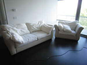MONTAUK STYLE SOFA AND CHAIR !