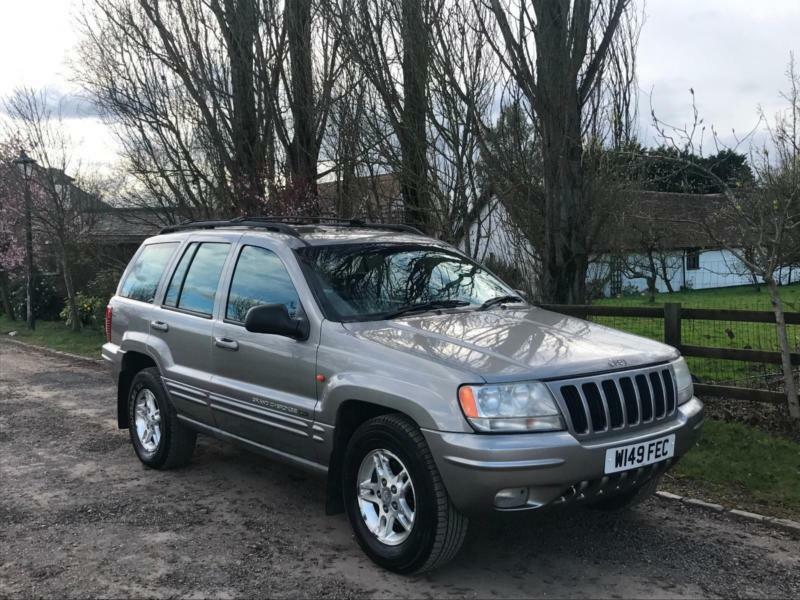 Jeep Grand Cherokee 4.7 V8 Auto Limited 2000 VERY LOW MILEAGE