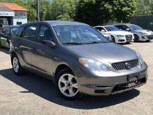 2004 Toyota Matrix LOW KMS GAS SAEVR WELL MAINTAINED SUNROOF