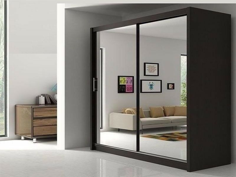 BRAND NEW   BERLIN 2 DOOR SLIDING WARDROBE WITH