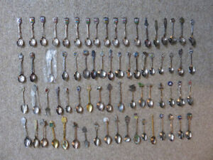 Spoon Collection   71 Pieces